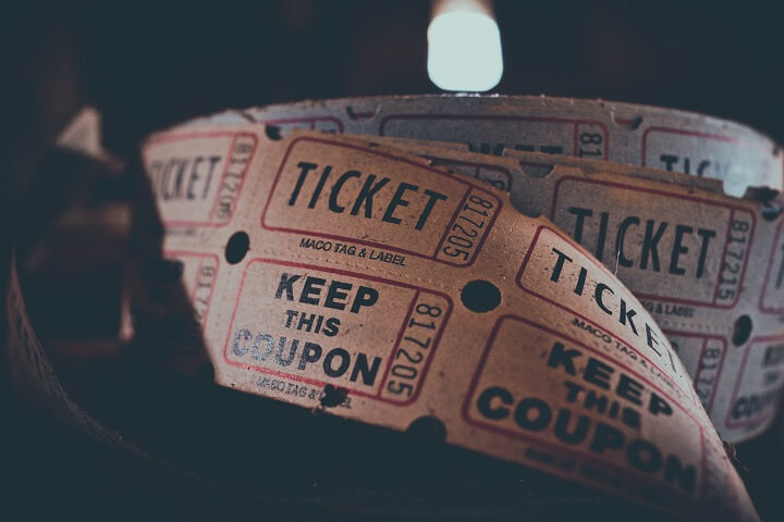 Audience collaboration blog a roll of tickets